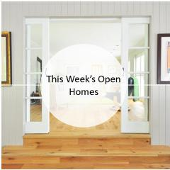 This Week's Open Homes